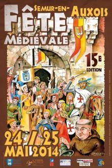 Les médiévoles à Semur-en-Auxois